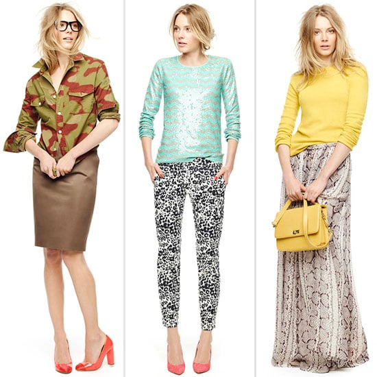 Seven of Our Favourite J.Crew Looks and The Styling Lessons We've Learned from their Fall 2012 Look Book
