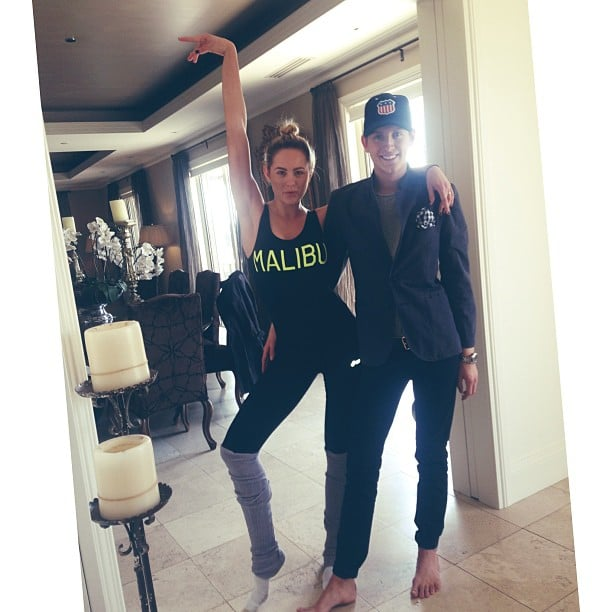 Jesinta has been hard at work rehearsing for Dancing With the Stars. Source: Instagram user jesinta_campbell