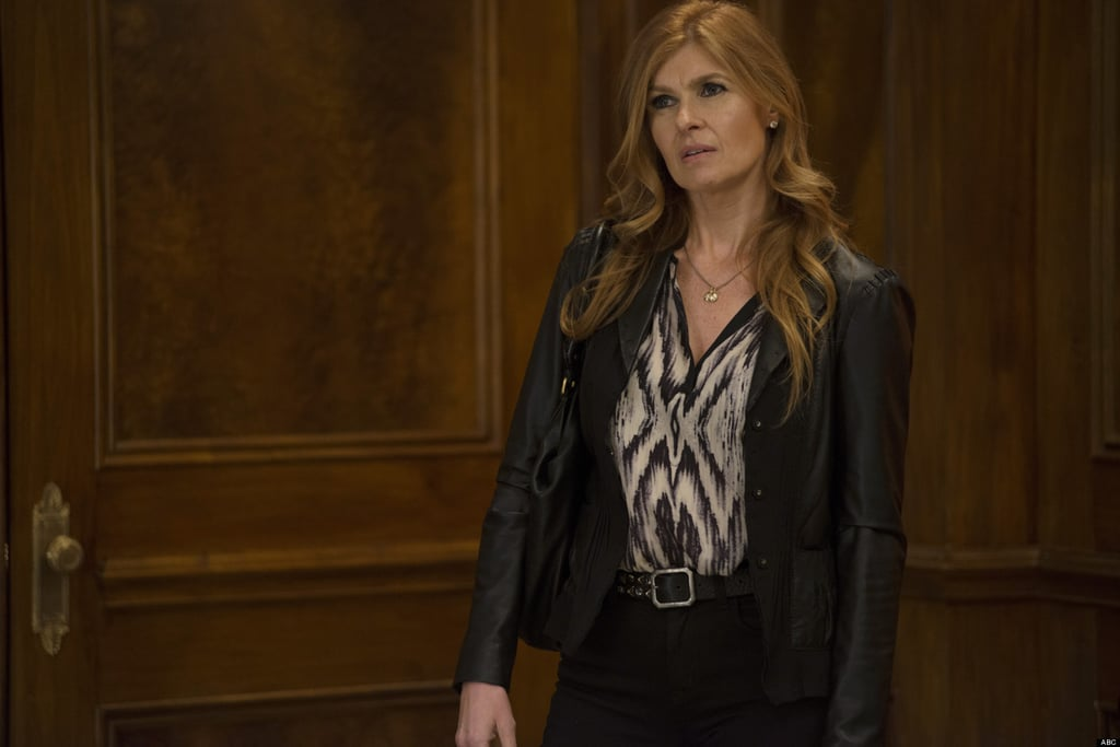 After a brief season as Vivian Harmon on American Horror Story, Britton headed to Nashville to play fading country star Rayna James.