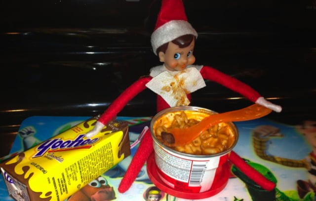 Elf With a Snack