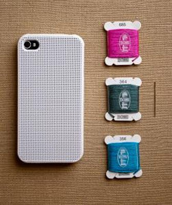 Cross-Stitch iPhone 4 Cover