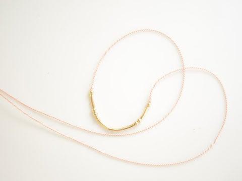 Coatt's Your Name Here Silk Necklace