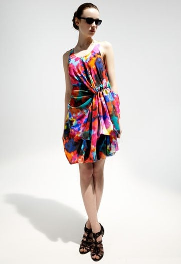 Thakoon Brings Out Prints, Pleats That Are Sure to Sell for Cruise 2010