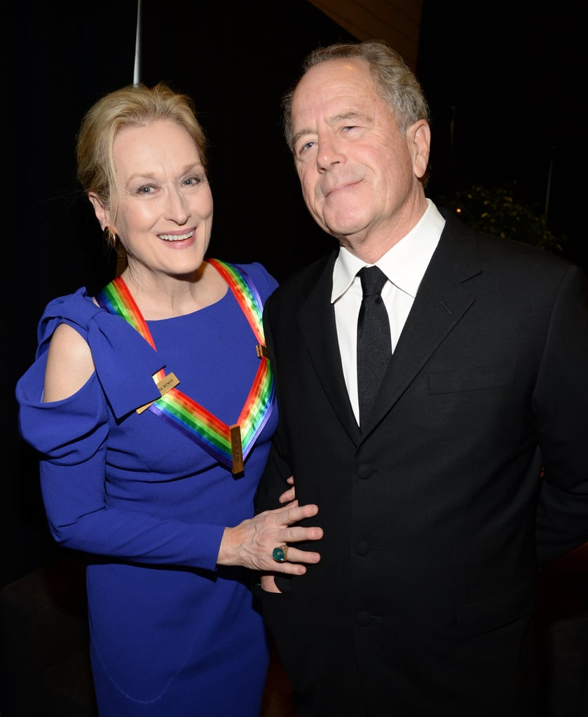 The couple kept close while attending the December 2014 Kennedy Center Honors in Washington DC.
