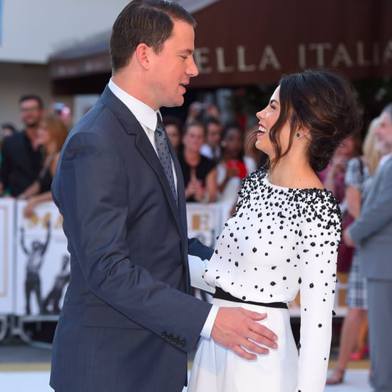 Channing Tatum and Jenna Dewan Cute Pictures