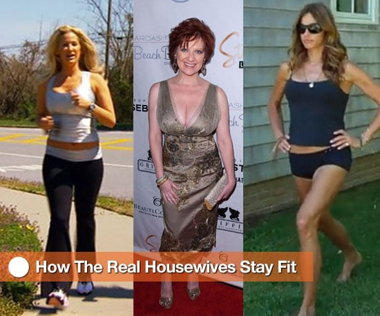 How the Real Housewives Stay Fit