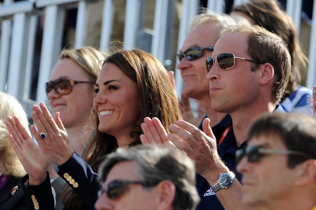 Kate Middleton Holds Hands With Prince William at the Olympics