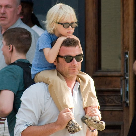 Liev Schreiber and Naomi Watts With Sasha & Samuel Pictures