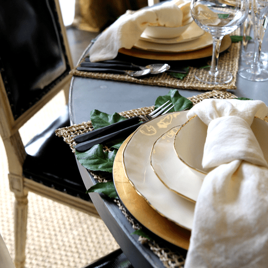 How to Set a Perfect Dinner Party Tablescape