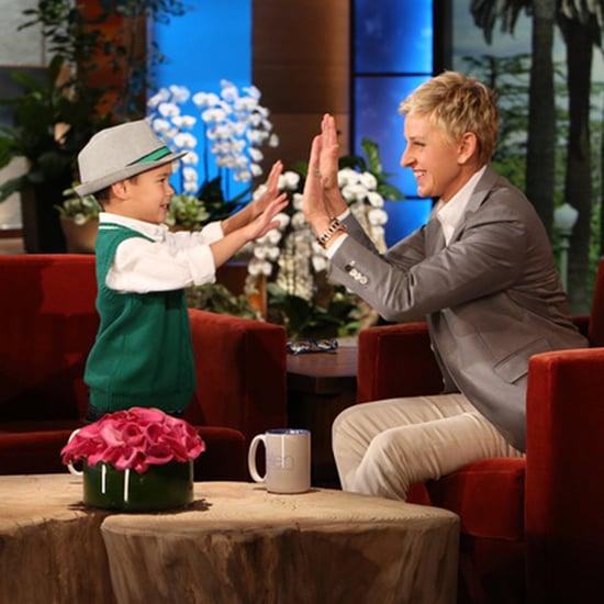 """Kai Sings Katy Perry's """"Roar"""" on The Ellen Show   Video"""