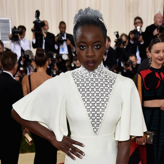 Danai Gurira at the MET Gala as Eclipsed is nominated for six Tony awards