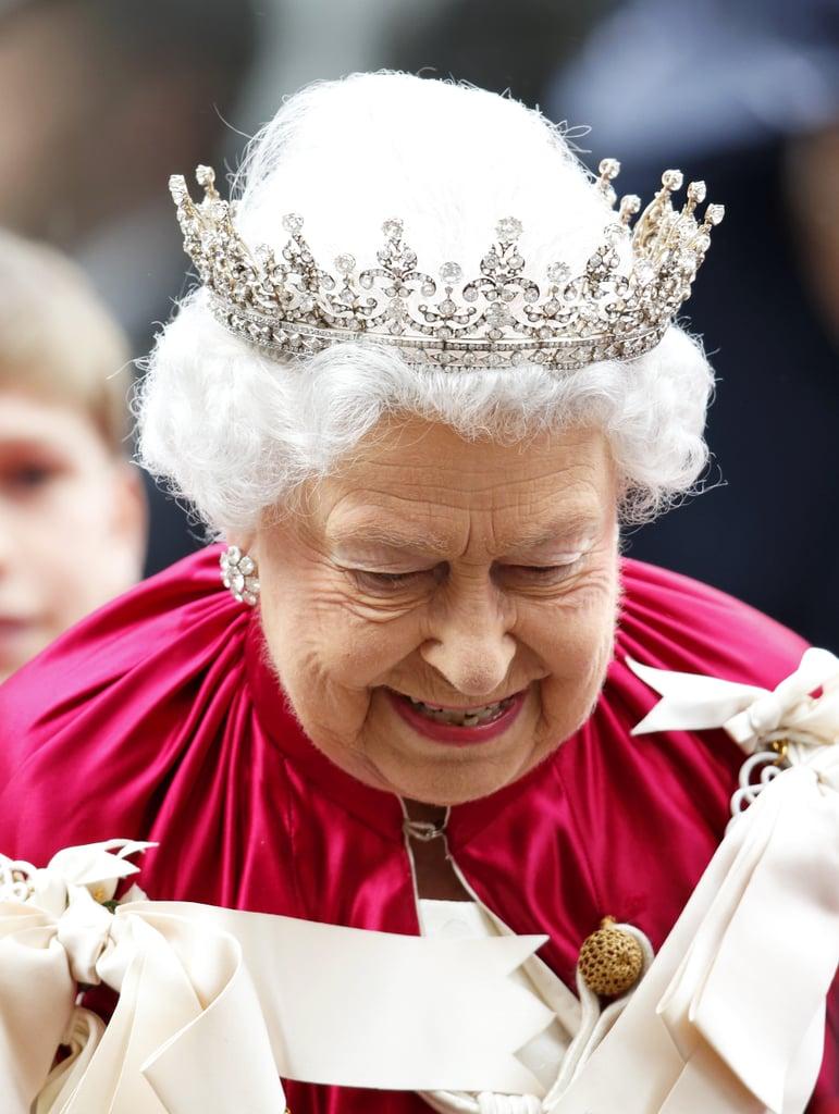 Look How Queen-y the Queen Was Today
