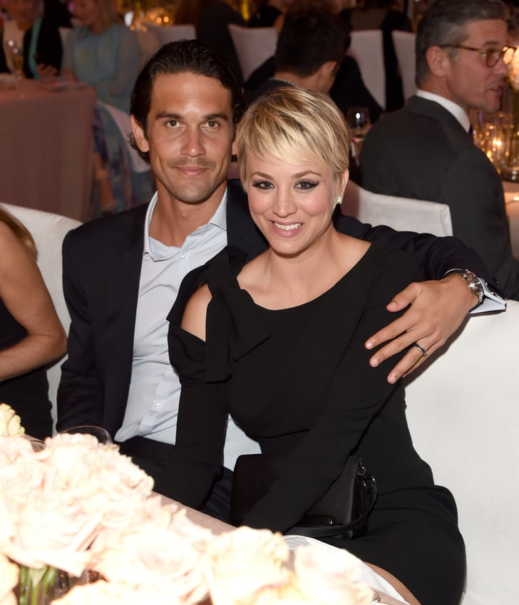 Kaley cuoco cuddled up with her husband ryan sweeting all your