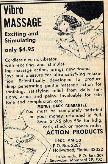 Flashback! Not-So-Subtle Vibrator Ad