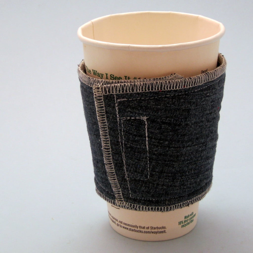 Denim Coffee Cup Cozies