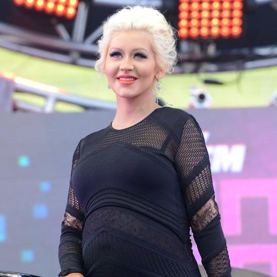 Christina Aguilera Gives Birth to a Baby Girl!