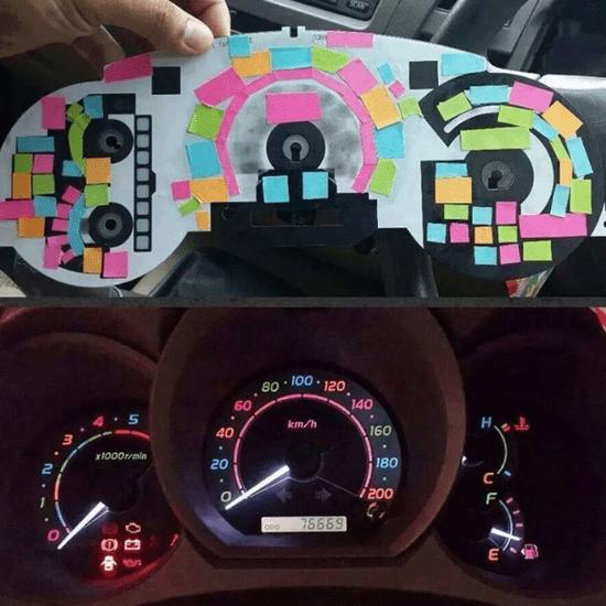 Color Dashboard Lights