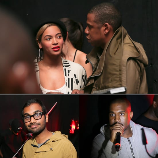 Beyoncé and Jay-Z Get in the Party Spirit With Kanye West