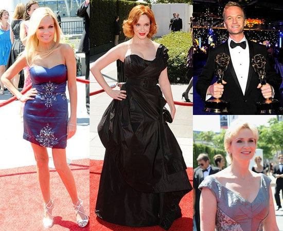 Pictures of Neil Patrick Harris, Christina Hendricks, Jon Hamm, Ryan Seacrest and More at Creative Arts Emmy Awards 2010-08-23 02:00:00
