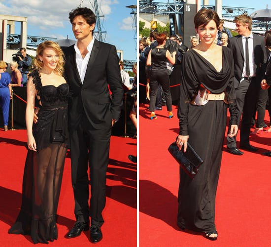 Kylie Minogue with Andres Velencoso and Dannii Minogue Pictures at 2011 ARIA Awards