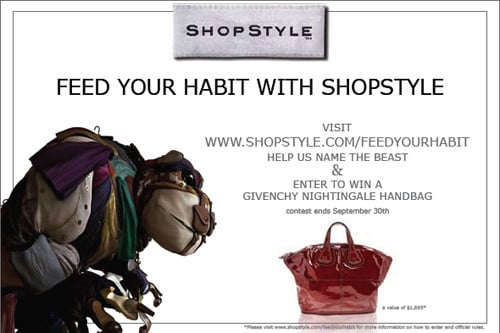 Name ShopStyle's Beast and Win a Givenchy Handbag!