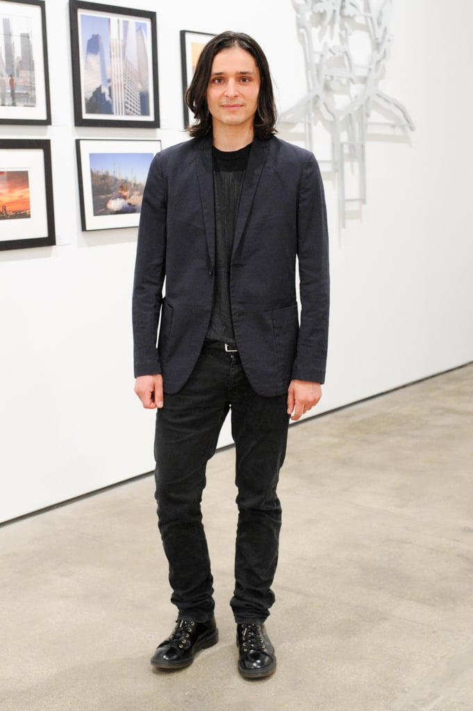 Olivier Theyskens at a party he hosted for the AIDS Community Research Initiative of America, or ACRIA, in New York City. Source: Neil Rasmus/BFAnyc.com