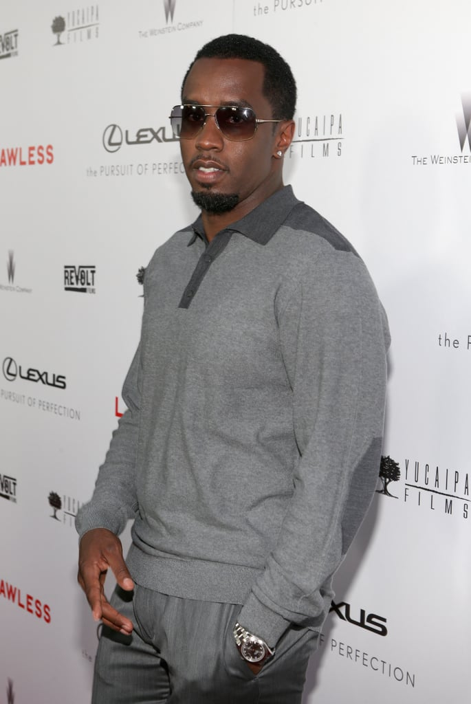 Diddy stepped out to support the premiere of Lawless in LA.