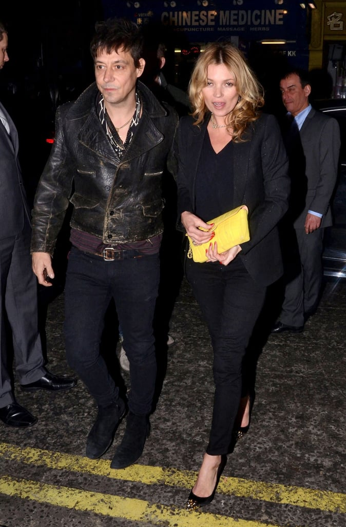 Kate Moss and Jamie Hince Party With Alexa Chung and Florence Welch