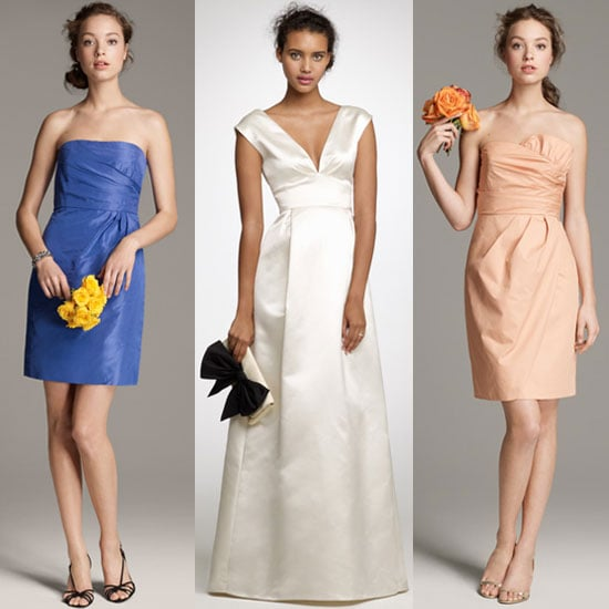 We saw the new J.Crew bridal collection. Drool.