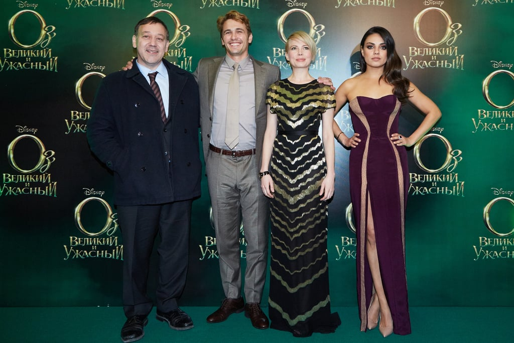 The Ladies of Oz Get Glamorous With James Franco in Russia