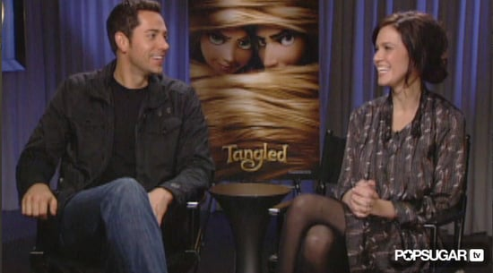 Zachary Levi and Mandy Moore Talk Tangled and Disney Love
