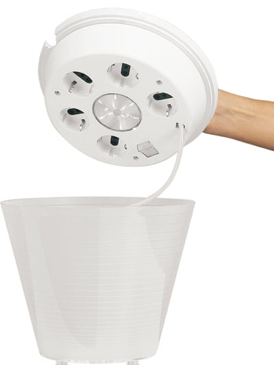 Multipot Combines Lighting With Storage