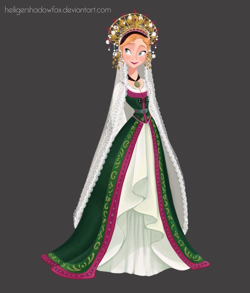 Anna as a Bride