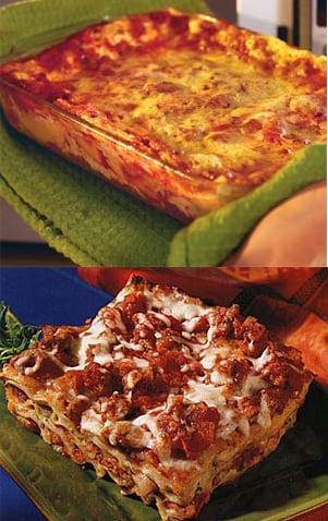 Lasagna Two Ways — Beginner and Expert