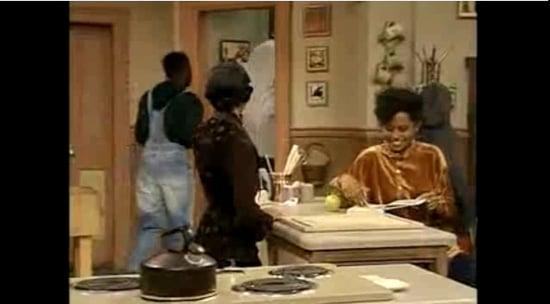 Cosby Show: Rudy Gets Her Period