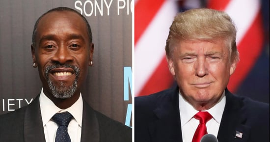 Don Cheadle Slams Donald Trump for Dwyane Wade Tweets: 'You Truly Are a POS'