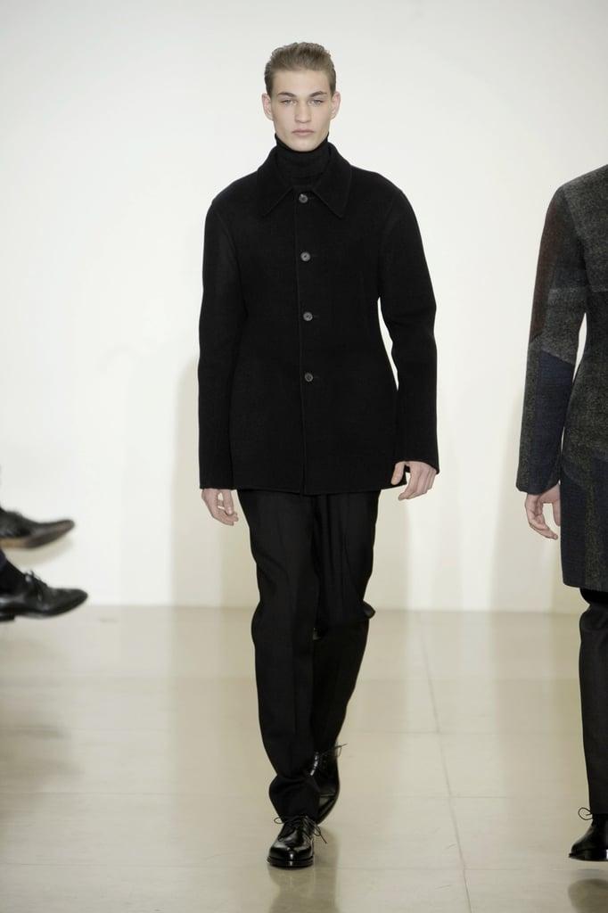 Milan: Jil Sander Men's Fall 2009