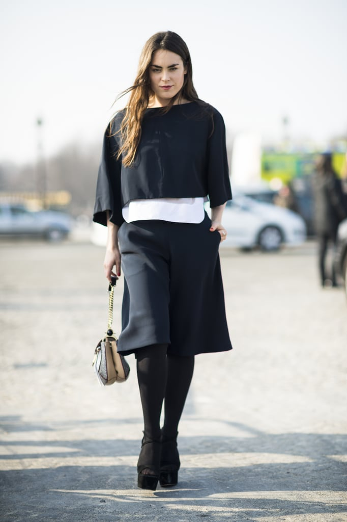 Minimalist silhouettes in sharp cuts gave this look more personailty. Source: Le 21ème | Adam Katz Sinding