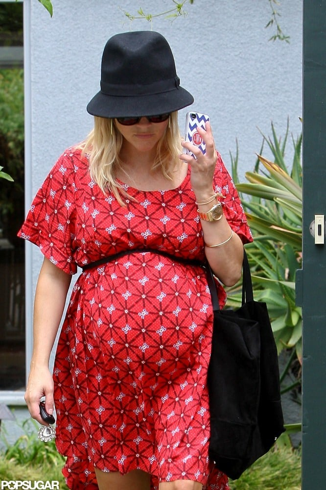 Reese Witherspoon wore a hat in LA.