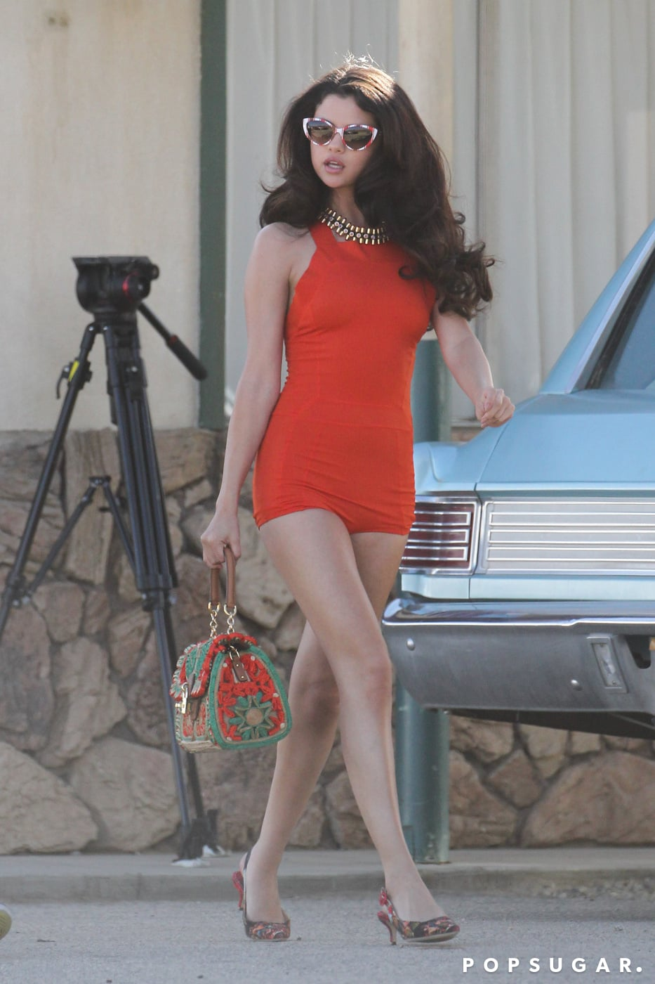 Selena Gomez Flaunted Her Legs In A One Piece Selena