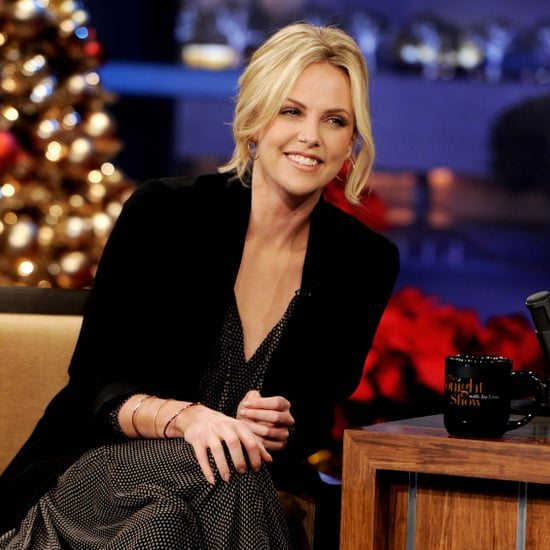 Young Adult's Charlize Theron Pictures at The Tonight Show