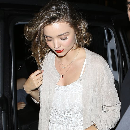 Miranda Kerr Engagement Ring Photos July 2016