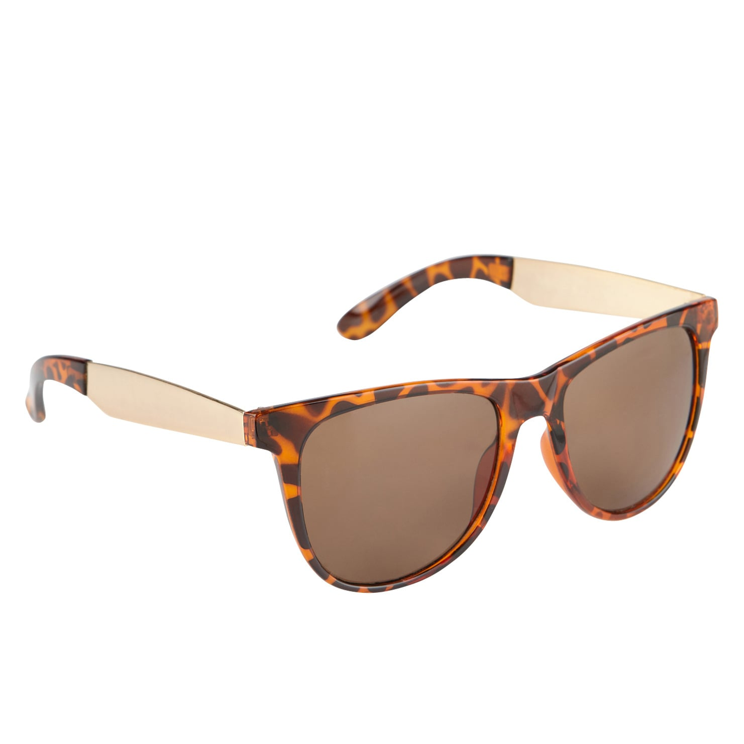 Try a touch of leopard like this gold and tortoise Aldo pair ($12).