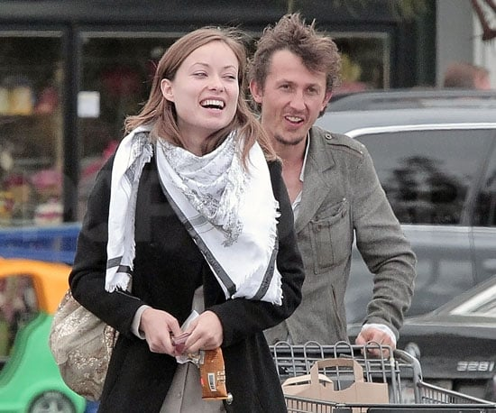 Slide Photo of Tao Ruspoli and Olivia Wilde Grocery Shopping