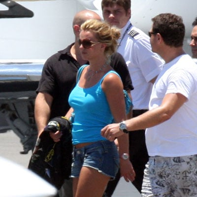 Britney Spears Leaves Cabo