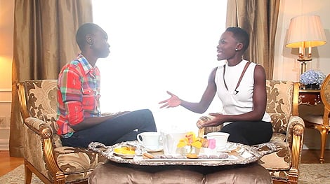 Watch Lupita Nyong'o's Dream Meeting With Her Inspiration