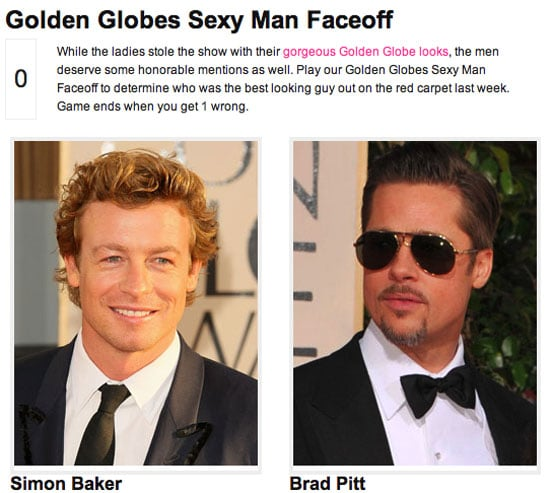 Who Was the Sexiest Man at the Golden Globes?