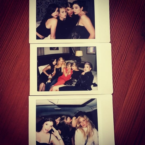 Taylor Swift With Selena Gomez, Lorde and Ellie Goulding