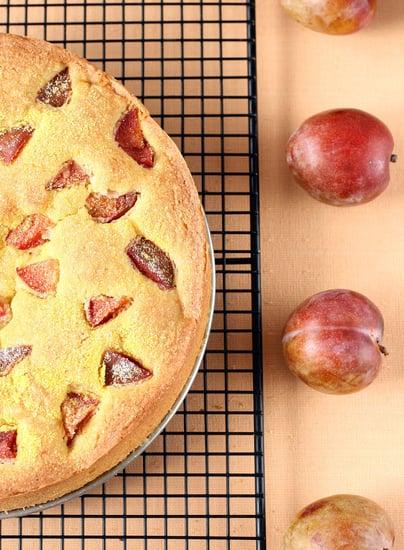 Yummy Link: Plum Cornmeal Cake