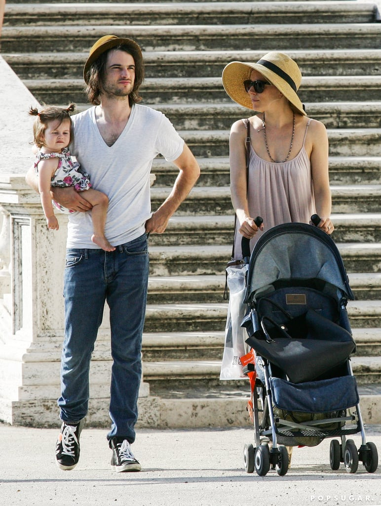 Sienna Miller and Tom Sturridge went sightseeing with Marlowe.